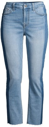 JEN7 by 7 For All Mankind Shadow-Seam Straight Ankle Jeans