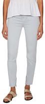 J Brand Maria Cotton Zip Cuff Skinny Jean