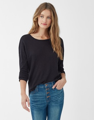 Splendid Zander Slub Long Sleeve Tee