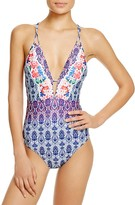 Nanette Lepore In the Tropics Printed One Piece Swimsuit - 100% Exclusive