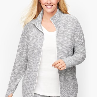 Talbots Space Dyed Cinched Hem Jacket