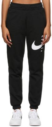 Nike Black Sportswear Swoosh Lounge Pants