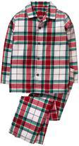 Gymboree Plaid 2-Piece Pajama Set