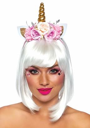 Leg Avenue Women's Pastel Fairy Flower Unicorn Headband