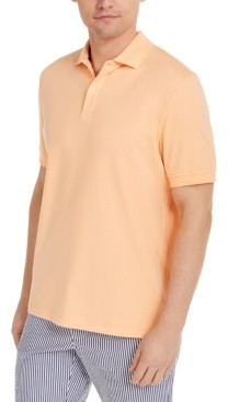 Club Room Men's Interlock Polo Shirt, Created for Macy's