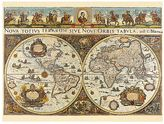 Ravensburger 1665 World Map 3,000-pc. Jigsaw Puzzle