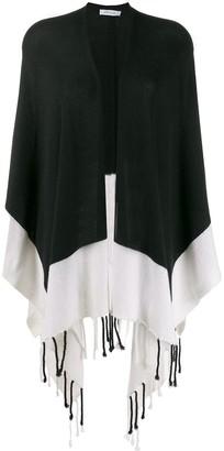 Philo Sofie Contrast Draped Cardi-Coat