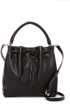 Cole Haan Loveth Leather Drawstring Crossbody