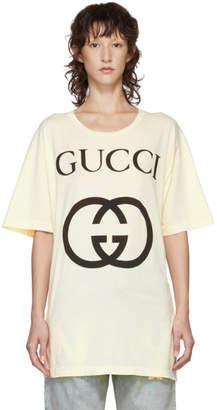Gucci White GG Logo T-Shirt