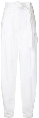 Paule Ka High Waist Woven Pants