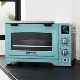 Crate & Barrel KitchenAid ® Aqua Sky Blue Digital Convection Oven