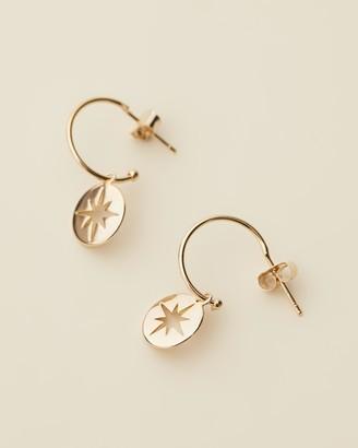 Estella Bartlett Starburst Drop Earrings