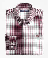 Brooks Brothers Non-Iron Gingham Sport Shirt
