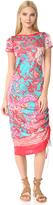 Fuzzi Short Sleeve Dress