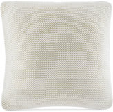 """Nautica Hawes Bell Point Knit 16"""" Square Decorative Pillow"""