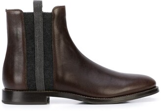 Brunello Cucinelli Flat Ankle Boots