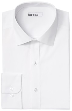 Bar III Men's Organic Slim-Fit Stretch Solid Dress Shirt, Gots Certified, Created for Macy's