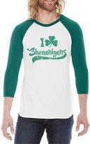 Crazy Dog T-shirts Crazy Dog Tshirts I Cover Shenanigans RAGAN Saint Patricks Day Ringer Irish Shirt