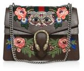 Gucci Dionysus Medium Embroidered Metallic Leather Shoulder Bag