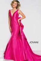 Jovani V Neckline Long Mermaid Prom Dress 41644