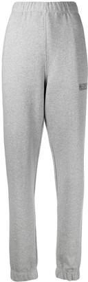 Ganni Logo-Embroidered Track Pants