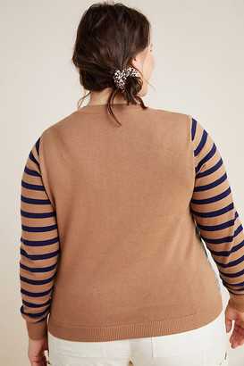 Krisi Striped Sweater By Conditions Apply in Blue Size 1 X