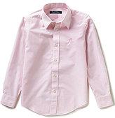 Brooks Brothers Little/Big Boys 4-20 Club Stripe Non-Iron Button-Down Shirt