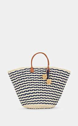 Barneys New York WOMEN'S PROVENCE LARGE STRAW TOTE BAG - NEUTRAL
