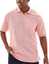 JCPenney THE FOUNDRY SUPPLY CO. The Foundry Supply Co. Short-Sleeve Oxford Piqu Polo-Big & Tall