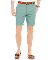 Roundtree & Yorke Casuals Flat-Front Chino Shorts