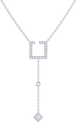 Lmj Street Light Lariat Necklace In Sterling Silver