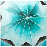 Jla Home Intelligent Design Cool Gem Gel-Coated Canvas Print