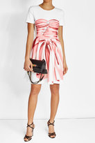 Moschino Printed Dress with Cotton