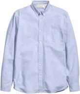 H&M Oxford Shirt - Light blue - Men