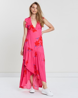 Free People She's a Waterfall Maxi Dress