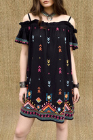 Double D Ranchwear Embroidered Shoulder Dress