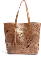 Urban Expressions Scallop Perforated Tote