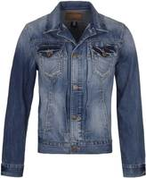 True Religion Dylan Old School Indigo Denim Jacket