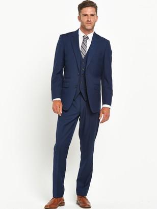 Skopes JossTapered Slim Fit Flat Front Trouser -Royal Blue