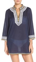 Tory Burch Women's Fringe Cover-Up Tunic