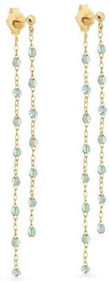 Gigi Clozeau 18kt yellow gold Classic Gigi dangling earrings