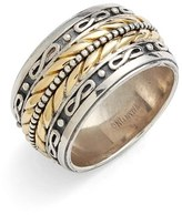 Konstantino Men's 'Orpheus' Etched Band Ring