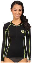 O'Neill Front Zip Long Sleeve Crew