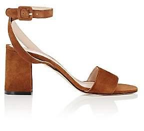 Barneys New York Women's Crisscross Ankle-Strap Sandals-Beige, Tan