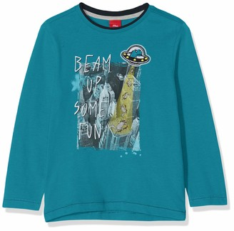 S'Oliver Boy's 63.908.31.8734 Long Sleeve Top