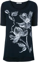 D-Exterior D.Exterior floral embroidered top