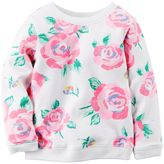 Carter's Baby Girl Floral French Terry Sweater