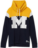 Victoria's Secret Victorias Secret University Of Michigan Cowl Pullover