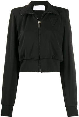 NO KA 'OI Zip-Through Cropped Jacket