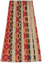 Gucci Lurex game wool skirt